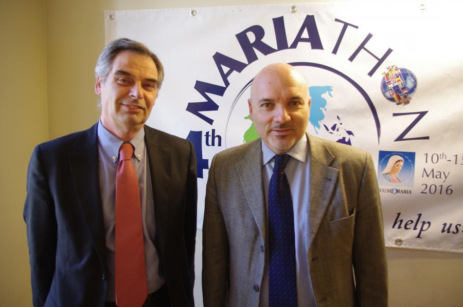 Коррдинатор Семьи Вальтер Вулкано и Президент Витторио Викарди